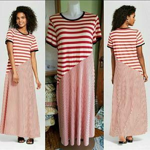 Jersey maxi t-shirt dress extra large